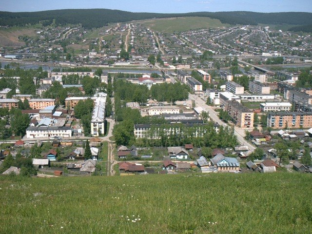 Информация и фото города Усть-Катав